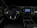 "2020 Ford F-250 SD Lariat, centered wide dash shot - ""night"" shot."