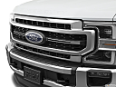 2020 Ford F-250 SD Lariat, close up of grill.