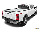 2020 Ford F-250 SD Lariat, rear 3/4 angle view.