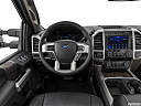2020 Ford F-250 SD Lariat, steering wheel/center console.