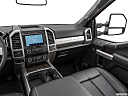 2020 Ford F-250 SD Lariat, center console/passenger side.