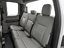 2020 Ford F-250 SD XL, rear seats from drivers side.