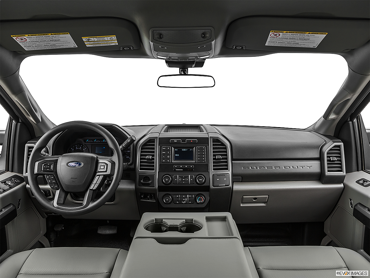 2020 Ford F-250 SD XL, centered wide dash shot