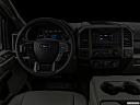 "2020 Ford F-250 SD XL, centered wide dash shot - ""night"" shot."