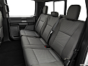 2020 Ford F-350 SD XLT, rear seats from drivers side.