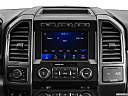 2020 Ford F-350 SD XLT, closeup of radio head unit