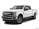2020 Ford F-350 SD XLT, front angle medium view.