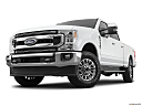 2020 Ford F-350 SD XLT, front angle view, low wide perspective.
