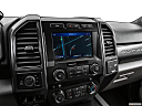2020 Ford F-350 SD XLT, driver position view of navigation system.