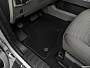 2020 Ford F-350 SD XLT, driver's floor mat and pedals. mid-seat level from outside looking in.