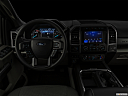 "2020 Ford F-350 SD XLT, centered wide dash shot - ""night"" shot."