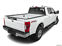 2020 Ford F-350 SD XLT, rear 3/4 angle view.