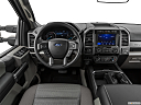 2020 Ford F-350 SD XLT, steering wheel/center console.