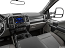 2020 Ford F-350 SD XLT, center console/passenger side.