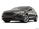2020 Ford Fusion Hybrid SE, front angle view, low wide perspective.