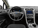 2020 Ford Fusion Hybrid SE, steering wheel/center console.