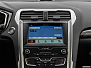 2020 Ford Fusion SE, closeup of radio head unit