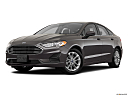 2020 Ford Fusion SE, front angle medium view.