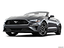 2020 Ford Mustang ECOBOOST, front angle view, low wide perspective.