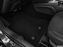 2020 Ford Mustang ECOBOOST, driver's floor mat and pedals. mid-seat level from outside looking in.