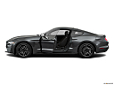 2020 Ford Mustang GT, driver's side profile with drivers side door open.