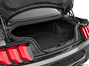 2020 Ford Mustang GT, trunk open.