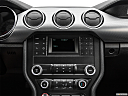 2020 Ford Mustang GT, closeup of radio head unit