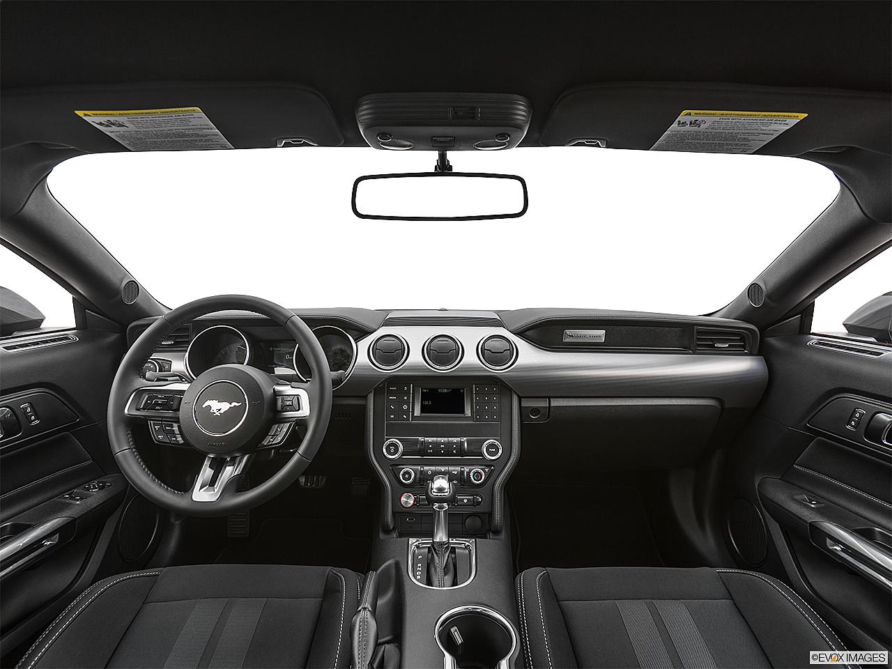 2020 Ford Mustang GT, centered wide dash shot