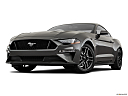 2020 Ford Mustang GT, front angle view, low wide perspective.