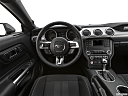 2020 Ford Mustang GT, steering wheel/center console.