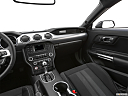 2020 Ford Mustang GT, center console/passenger side.
