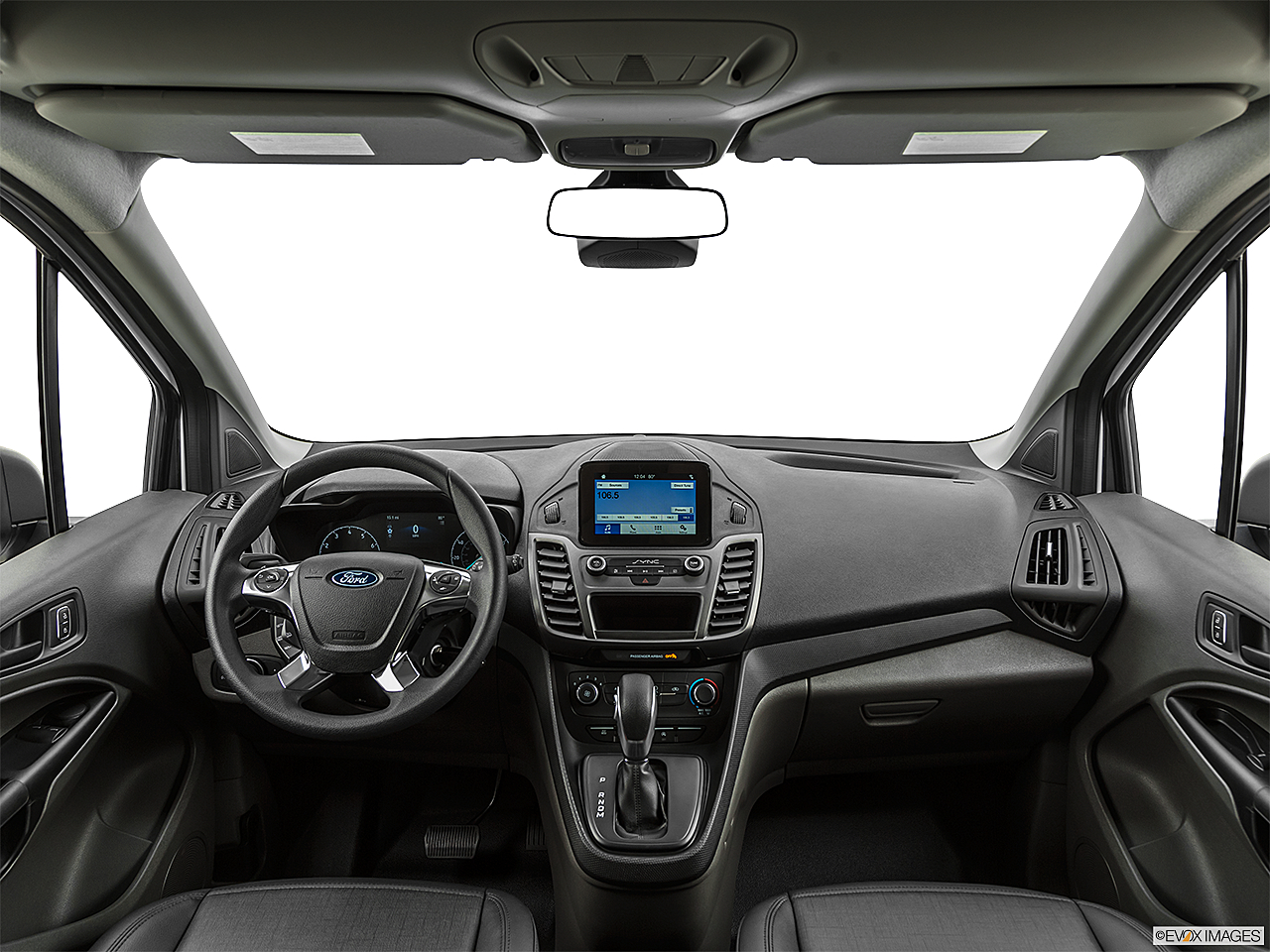 2020 Ford Transit Connect Van XL, centered wide dash shot