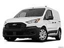 2020 Ford Transit Connect Van XL, front angle view, low wide perspective.