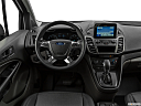 2020 Ford Transit Connect Van XL, steering wheel/center console.