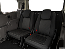 2020 Ford Transit Connect Wagon Extended XLT, 3rd row seat from driver side.