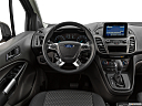 2020 Ford Transit Connect Wagon Extended XLT, steering wheel/center console.