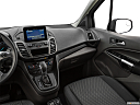 2020 Ford Transit Connect Wagon Extended XLT, center console/passenger side.