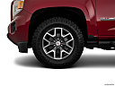 2020 GMC Canyon All Terrain - Cloth, front drivers side wheel at profile.