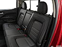 2020 GMC Canyon All Terrain - Cloth, rear seats from drivers side.