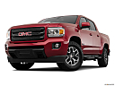 2020 GMC Canyon All Terrain - Cloth, front angle view, low wide perspective.