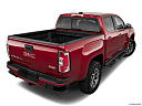 2020 GMC Canyon All Terrain - Cloth, rear 3/4 angle view.