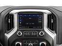 2020 GMC Sierra 2500HD SLT, closeup of radio head unit