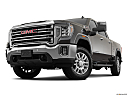 2020 GMC Sierra 2500HD SLT, front angle view, low wide perspective.