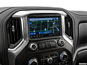 2020 GMC Sierra 2500HD SLT, driver position view of navigation system.