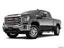 2020 GMC Sierra 2500HD SLT, front angle medium view.