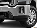 2020 GMC Sierra 2500HD SLT, driver's side fog lamp.
