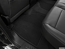 2020 GMC Sierra 2500HD SLT, rear driver's side floor mat. mid-seat level from outside looking in.