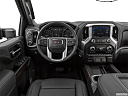 2020 GMC Sierra 2500HD SLT, steering wheel/center console.