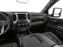 2020 GMC Sierra 2500HD SLT, center console/passenger side.