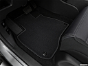 2020 Honda CR-V EX, driver's floor mat and pedals. mid-seat level from outside looking in.